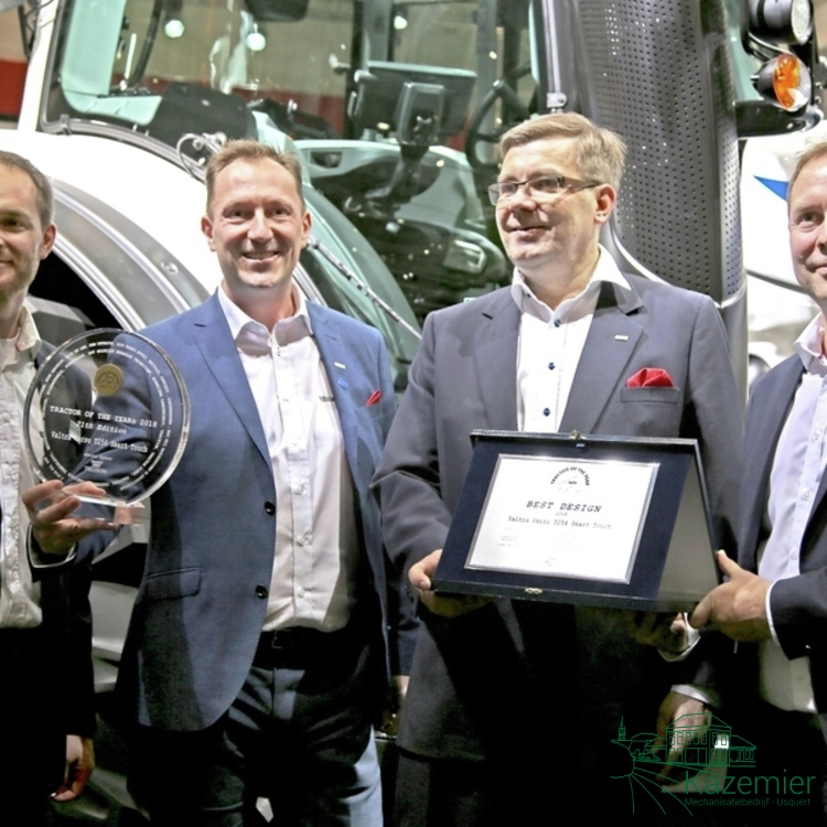 Valtra wint Tractor of the Year 2018 én best Design tijdens Agritechnica